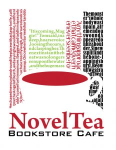 NovelTea Bookstore Cafe - Logo that I designed
